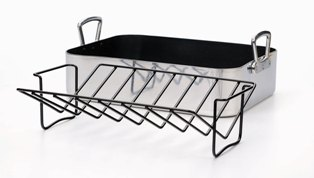 Ultimate Lasagna/Roasting Pan and Rack