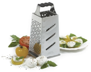 Four-Sided Grater with catch