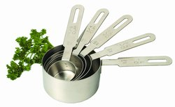 Stainless Steel measuring cups, set of 5