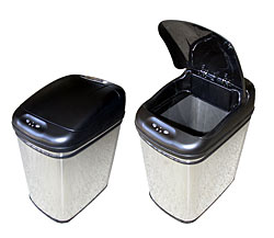 TouchFree Trashcan™ 8 gallon automatic trash can